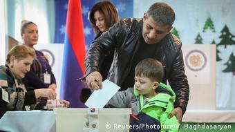 На выборах в Армении в декабре 2018 года