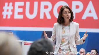 Κατερίνα Μπάρλεϊ, η δημοφιλέστερη υποψήφια για το Ευρωκοινοβούλιο