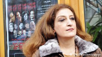 سیما صاحبی، همسر محمد جعفر پوینده از دعوت کنندگان مراسم یادمان در هانوفر