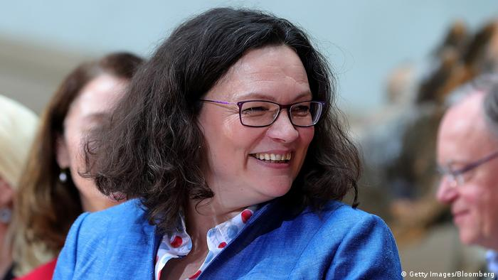 Andrea Nahles SPD (Getty Images/Bloomberg)