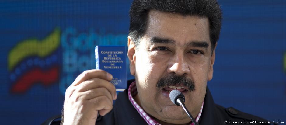 Segundo mandato de Maduro foi declarado ilegítimo pelo Parlamento