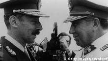 Chile Argentinien Konflikt General Augusto Pinochet Jorge Videla
