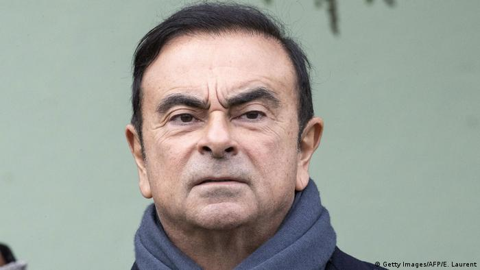 Carlos Ghosn (Getty Images/AFP/E. Laurent)