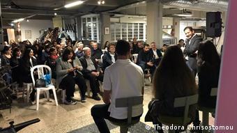 Aπό την εκδήλωση «Cyprus The Next Day» στα γραφεία της εφημερίδας ΠΟΛΙΤΗΣ στη Λευκωσία
