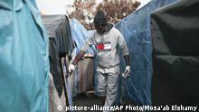 Marokko Flüchtlingslager Ouled Ziane in Casablanca