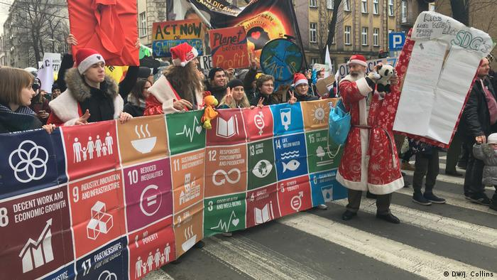 Global Ideas COP24 Protest