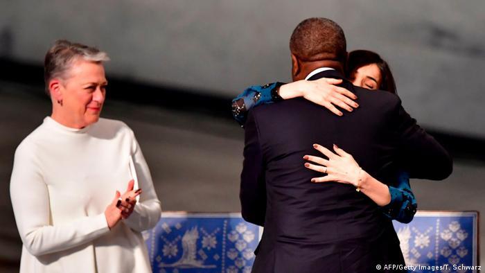 Verleihung Friedensnobelpreis Denis Mukwege Nadia Murad