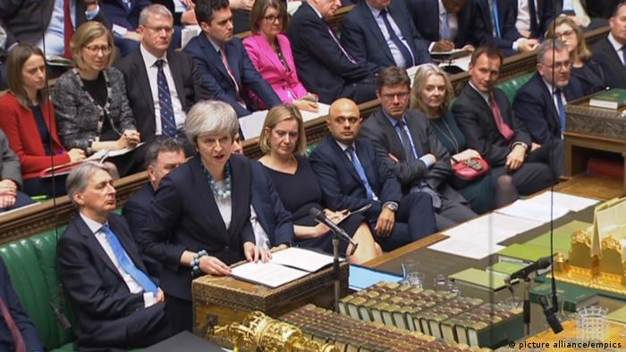 May verschiebt Brexit-Abstimmung (picture alliance/empics)