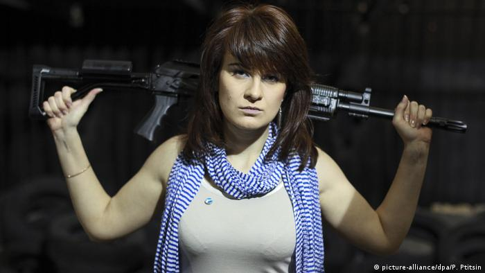 Maria Butina (picture-alliance/dpa/P. Ptitsin)