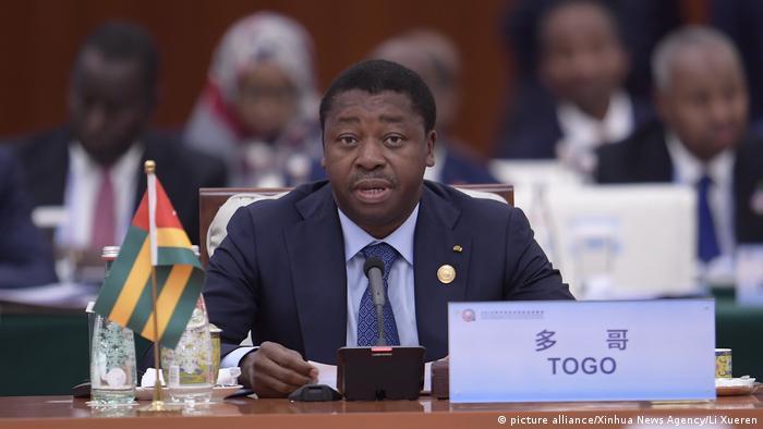 Le président Faure Gnassingbe ici à Beijing, au sommet de coopération Chine-Afrique (Archives - 04.09.2018)