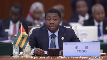 Togos Präsident Faure Gnassingbe (picture alliance/Xinhua News Agency/Li Xueren)