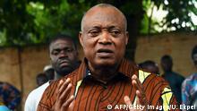 Togos Oppositonsführer Jean-Pierre Fabre