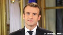 Emmanuel Macron Rede an die Nation