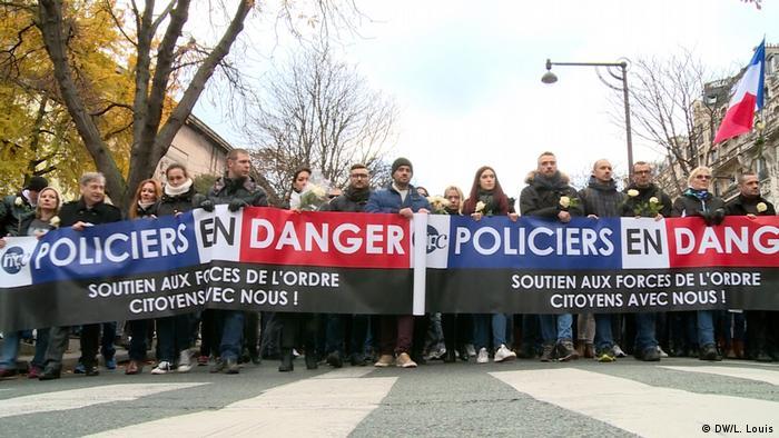 A remembrance march in Paris