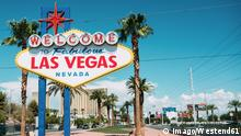 USA Schild Welcome To Fabulous Las Vegas
