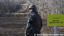 Bildergalerie Annäherung Nord- und Südkorea