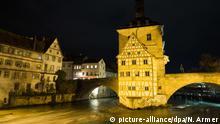BdT Bamberg bei Nacht