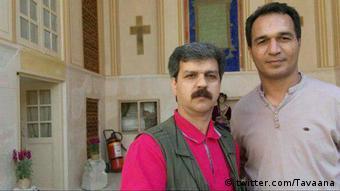 Iran Reza Shahabi & Hassan Saidi, inhaftierte Gewerkschafter (twitter.com/Tavaana)