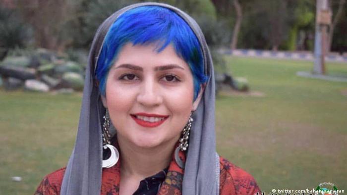 Iran Sepideh Ghalian, inhaftierte Studentin