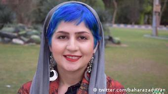 Iran Sepideh Ghalian, inhaftierte Studentin (twitter.com/baharazadyiran)
