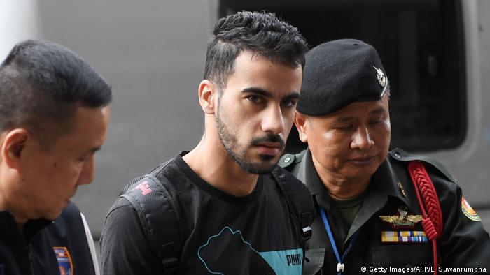 Thailand Hakeem Al Oraibi vor Gericht in Bangkok