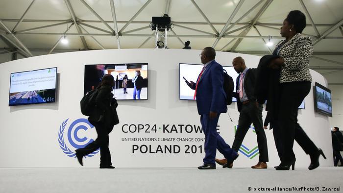 Polen COP24 Klimakonferenz in Kattowitz (picture-alliance/NurPhoto/B. Zawrzel)