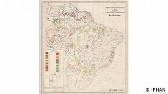 O mapa etno-histórico do Brasil e regiões adjacentes, dos anos 1940