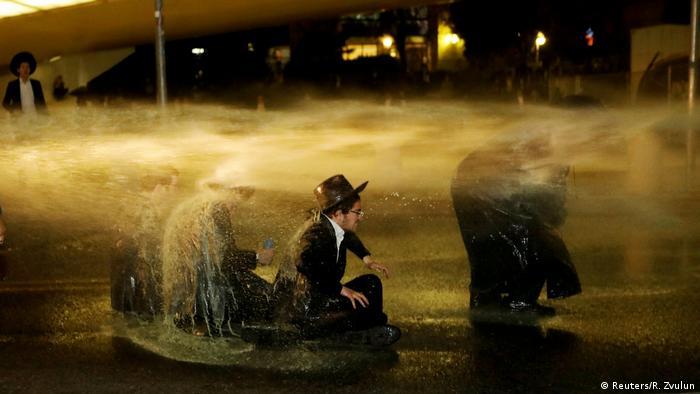 İsrail'de radikal dinciler polisle çatıştı
