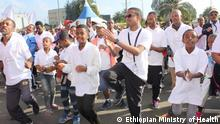 Car Free day in sieben Städten in Äthiopien am 09.12.2018 in Addis Abeba