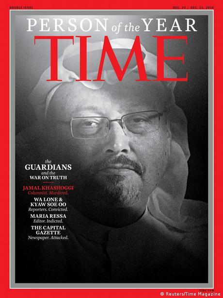 TIME's Person of the Year 2018   Jamal Khashoggi