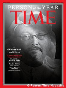 TIME's Person of the Year 2018 | Jamal Khashoggi (Reuters/Time Magazine)