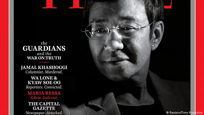 TIME's Person of the Year 2018 | Maria Ressa (Reuters/Time Magazine)