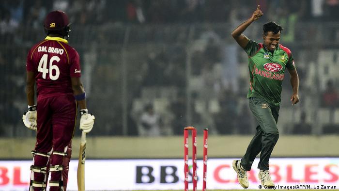 Cricket-Spiel Bangladesch vs Westindische Inseln (Getty Images/AFP/M. Uz Zaman)