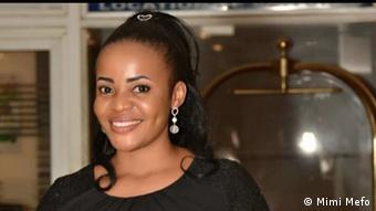 Journalist Mimi Mefo Takambou