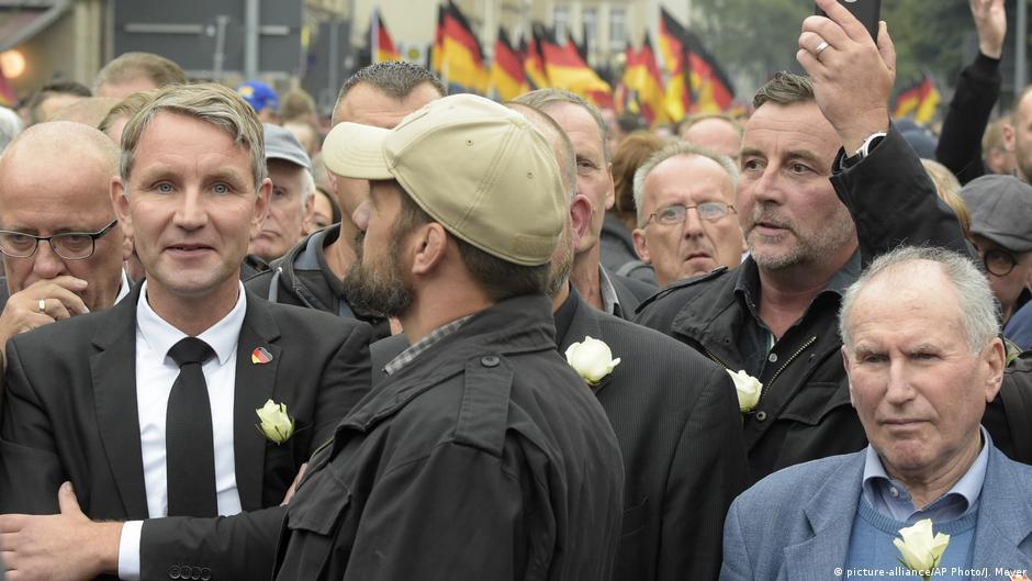 AfD Thüringen Björn Höcke bei Pegida