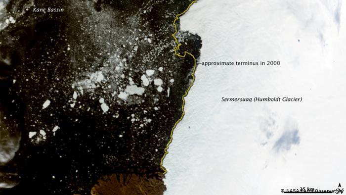 The Humboldt glacier, northern Greenland