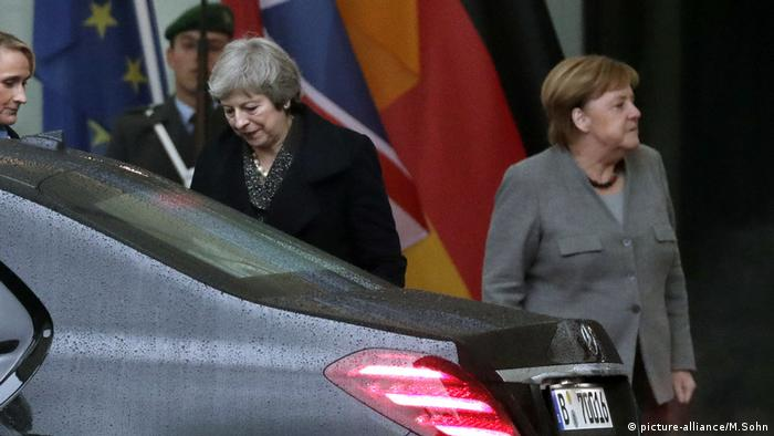 Brexit und Deutschland - Theresa May und Angela Merkel