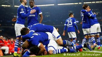 Fußball Champions League FC Schalke 04 vs Lokomotive Moskau | Jubel