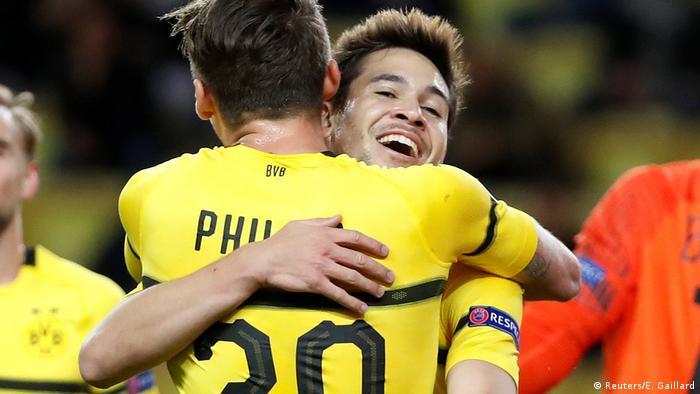 Fußball Champions League AS Monaco vs Borussia Dortmund