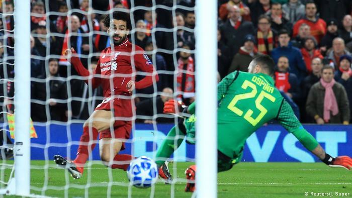Fußball Champions League - Liverpool vs Neapel | Tor zum 1:0