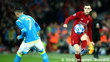 Champions League - Liverpool vs Neapel Andy Robertson (Getty Images/C. Brunskill)