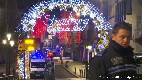 Police in Strasbourg