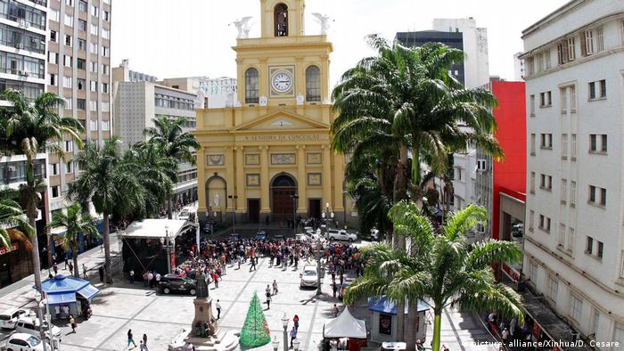 Sao Paulo Campinas Kathedrale Schießerei (picture- alliance/Xinhua/D. Cesare)