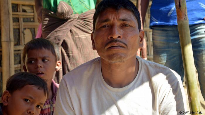 Myanmar Rohingya refugee Mohammad Taher
