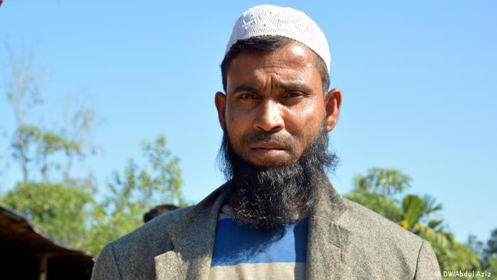 Myanmar Rohingya refugee Abdul Mannan