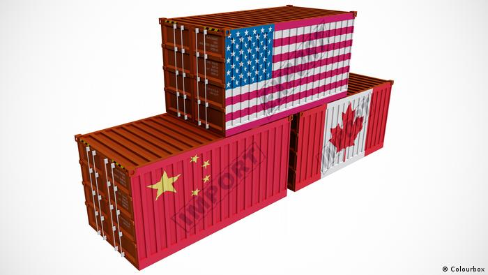 Symbolbild Handel USA Kanada China (Colourbox)