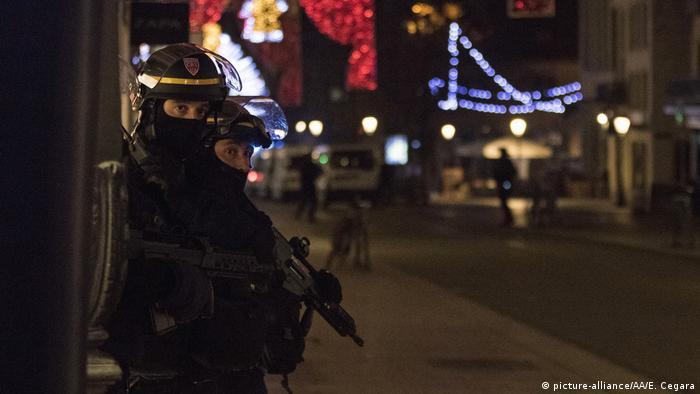 Schießerei Straßburger Weihnachtsmarkt Polizei