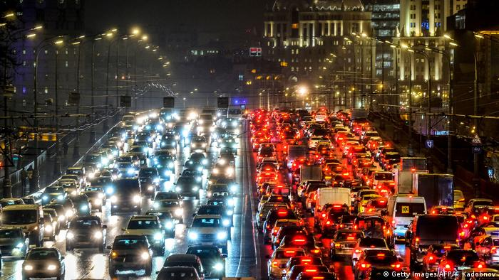 Traffic jam in Moscow (Getty Images/AFP/Y. Kadobnov)