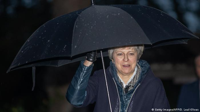 Großbritannien Theresa May, Premierministerin (Getty Images/AFP/D. Leal-Olivas)
