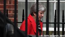 Großbritannien Theresa May, Premierministerin in 10 Downing Street